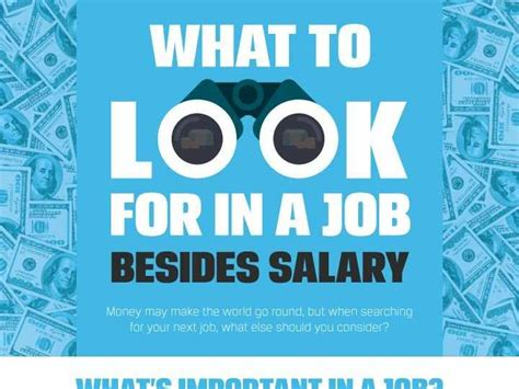 8 Things To Look For In A by Important Things To Look For In A Besides Salary