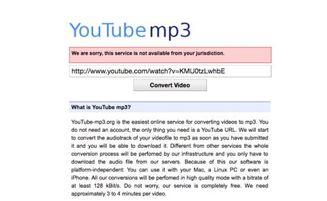 mp3 youtube internet s most popular stream ripping site shuts down