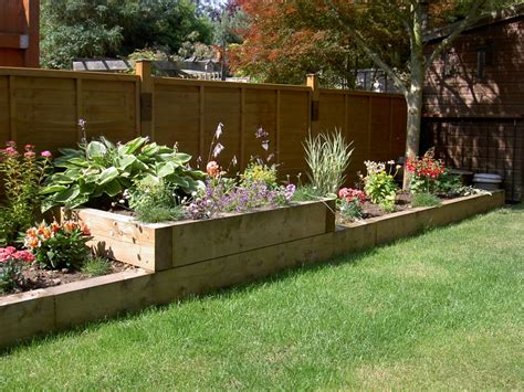 Raised Flower Bed Garden And Design Pinterest Raised Raised Flower Gardens
