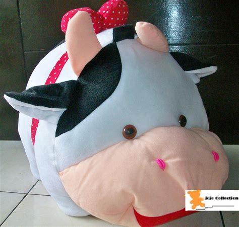 Boneka Xiaoyaoji Original 2 jual beli boneka sapi besar baru boneka mainan model terbaru