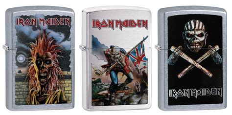 quest for the iron maiden zippo lighter flush the fashion