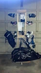 hockey sports equipment drying rack hey i could do