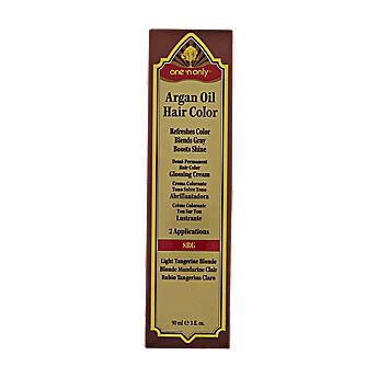 One N Only Argan Oil Hair Color Demi Permanent Glossing Cream | one n only last chance argan oil hair color demi