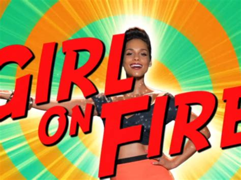 This Girl Is On Fire Meme - song of the week girl on fire eat blog run