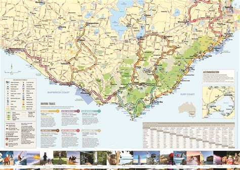australia touring map location keren s place
