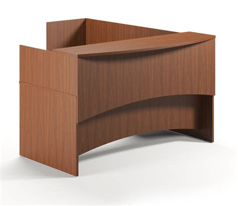 mayline reception desk mayline furniture bt28 brighton series l shaped