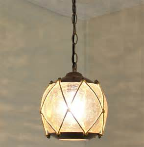Vintage Pendant Lights Antique Cracked Glass Pendant Lighting Contemporary Pendant Lighting New York By