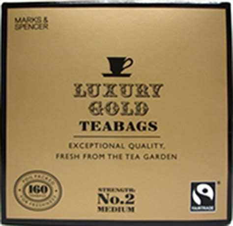 Detox Tea Bags Marks And Spencer by Marks And Spencer Gold Tea 160 Teabags Shop Abroad