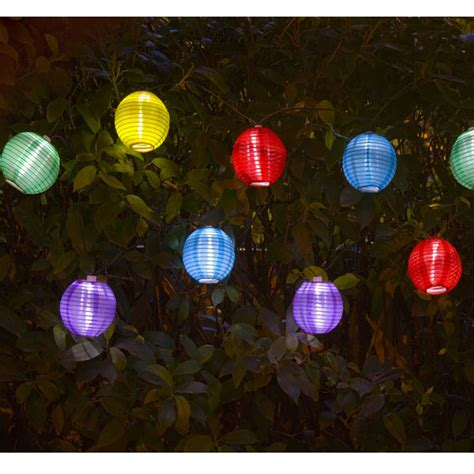 solar lantern string lights sunflare solar lantern string light 10 led on sale fast