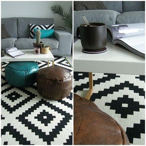 alfombra negra ikea la alfombra ikea de las lappljung ruta