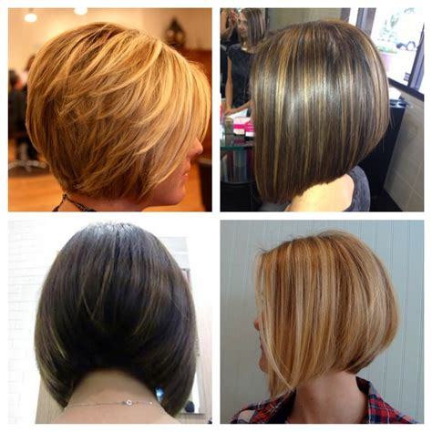 front and back views of short bob hairstyles angled bob front and back view bob haircuts back and front