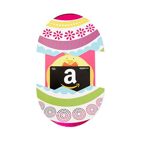 Easter Gift Cards - amazon gift card easter egg love the edit
