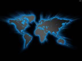 blue glowing world map psdgraphics