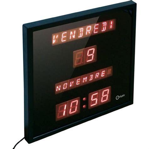 Calendrier Digital Mural Catgorie Horloges Pendule Et Comtoise Du Guide Et
