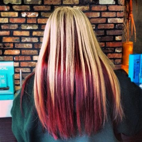 Avi 2 Tone Color Pink hair color inspiration