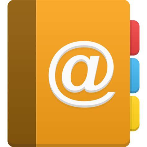 address book icon flatastic icons part 1 softicons com