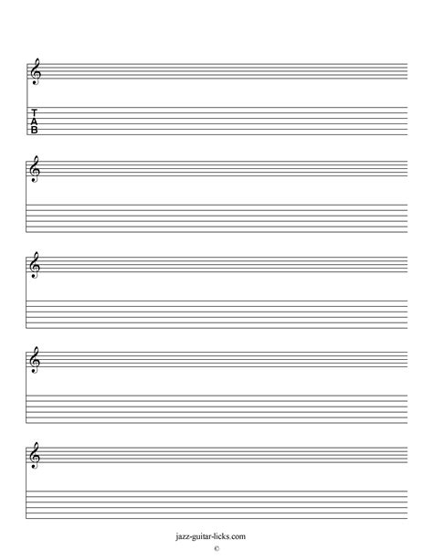 printable sheet music printable blank staves and tabs free music sheet music