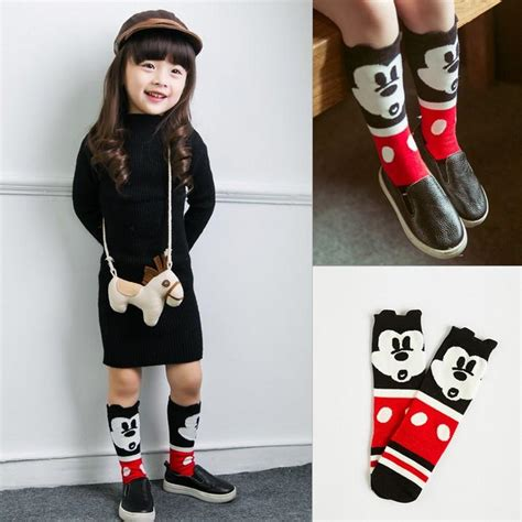 Jelly Shoes Mickey Minnie Jelly Shoes Anak korean style children socks wholesale infant boys and