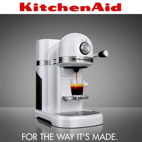 KitchenAid   Artisan Nespresso Maschine   Frosted Pearl   Coffee
