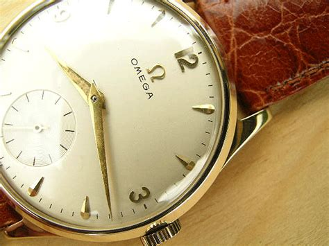 omega gold 1954 vintage watches