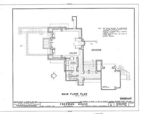 Ennis House Floor Plan Ennis House Floor Plan