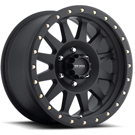 matte black pattern home products method double standard 18x9 0 18mm offset