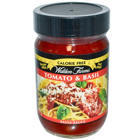 pasta sauce walden farms pasta sauce tomato basil 12 oz iherb com