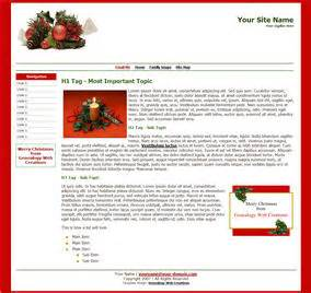 css liquid layout templates christmas templates from genealogy web creations