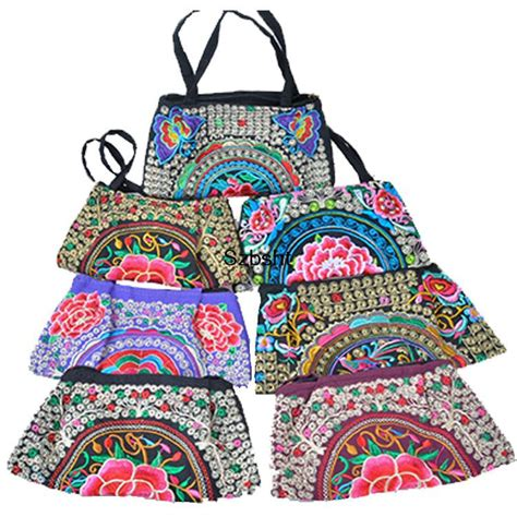 Minority Bags From by Vintage Hmong Tribal Ethnic Thai Indian Boho Shoulder Bag