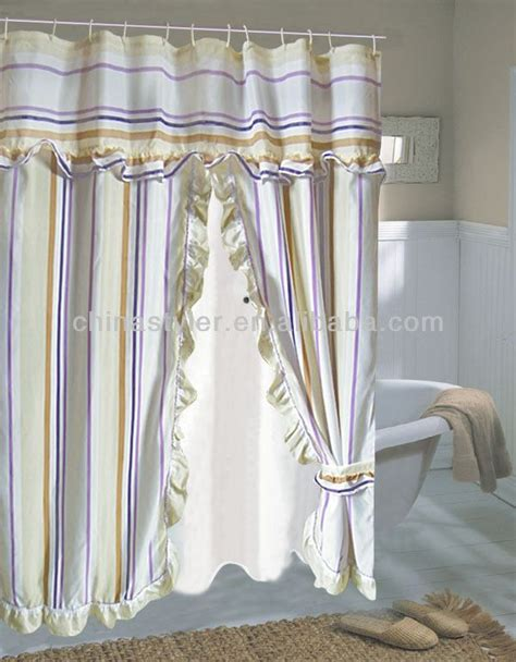 swag shower curtain 17 best ideas about curtains with valance on pinterest