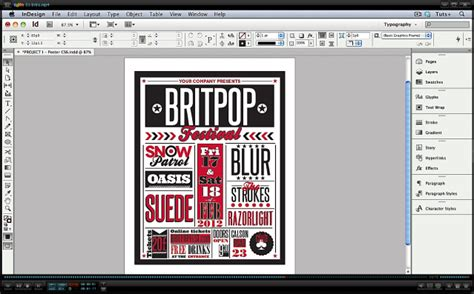typography tutorial indesign video tuts premium typography projects in indesign