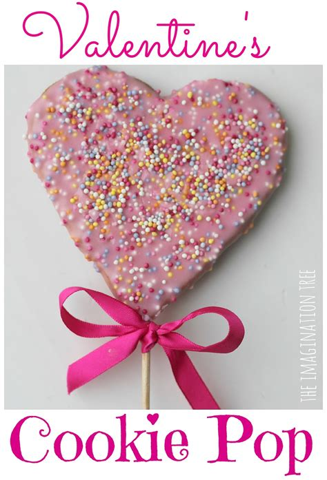 how to make valentines cookies how to make s cookie pops the imagination tree