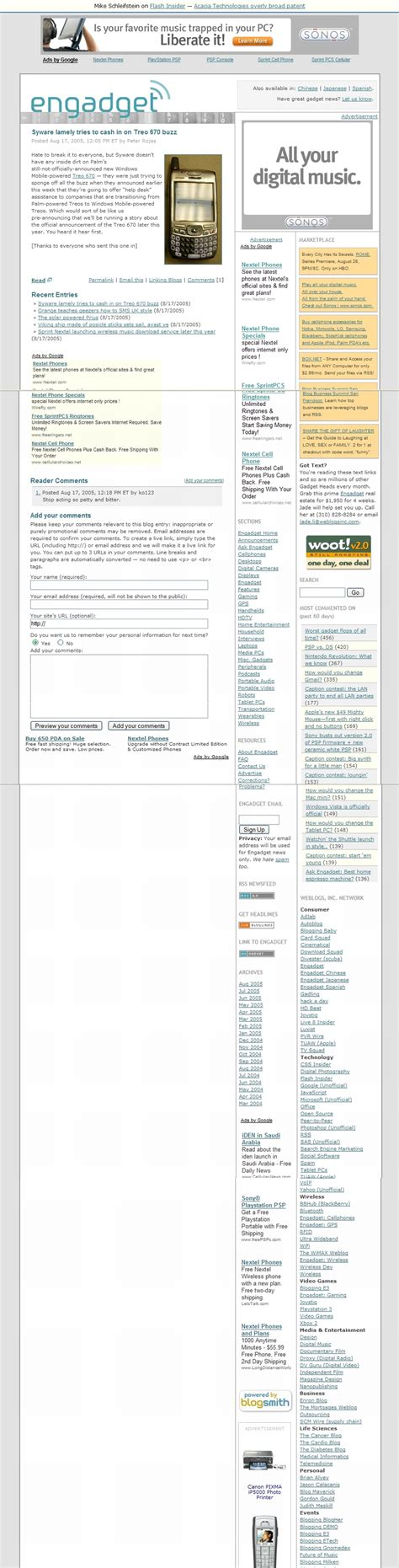 adsense tos daily archive 17 aug 05