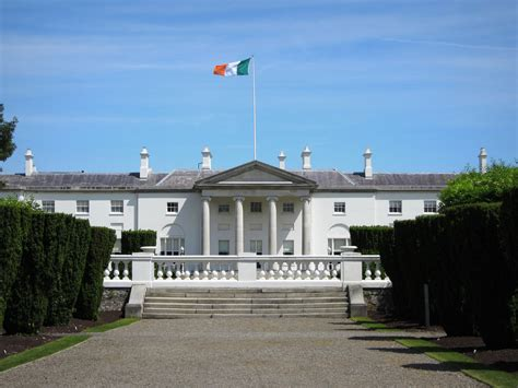 Neoclassical House by Aras An Uachtarain Phoenix Park Dublin City 1751