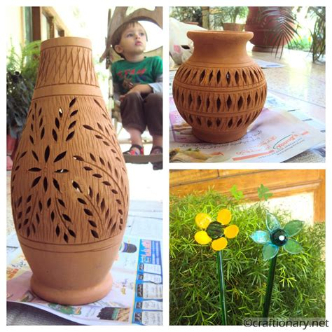 how to decorate pot at home craftionary