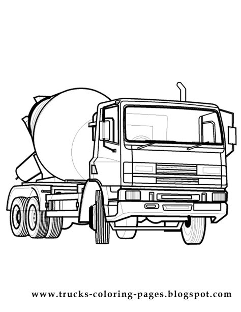 truck coloring pages truck coloring pages to print 12 image colorings net