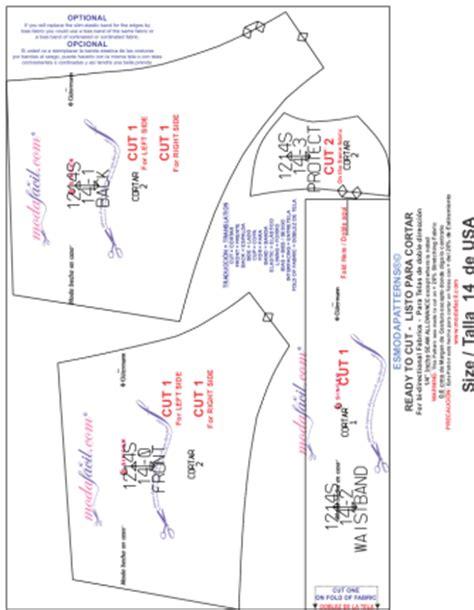 cachetero de mujer paso a paso moldes gratis descarga los patrones del traje de ba 241 o de dos piezas