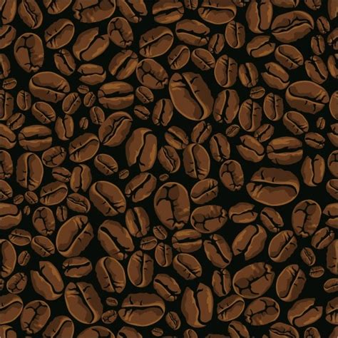 wallpaper coffee vector vector coffee beans background free vector in encapsulated