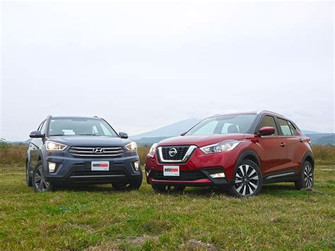 Hyundai Vs Nissan by Frente A Frente Crossovers Urbanos Hyundai Creta Vs