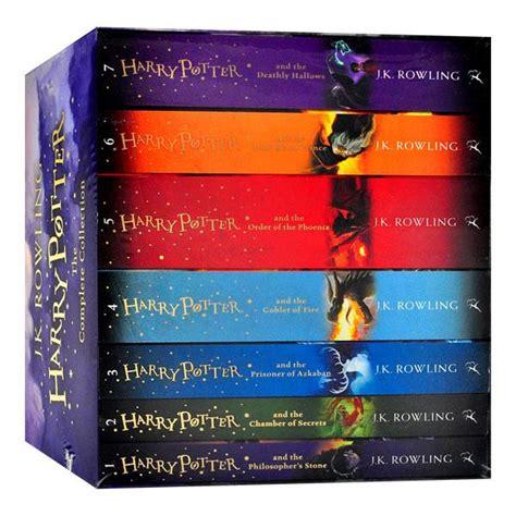 Harry Potter Complete Collection Book 1 7 J K Rowling Ebook harry potter box set the complete collection j k