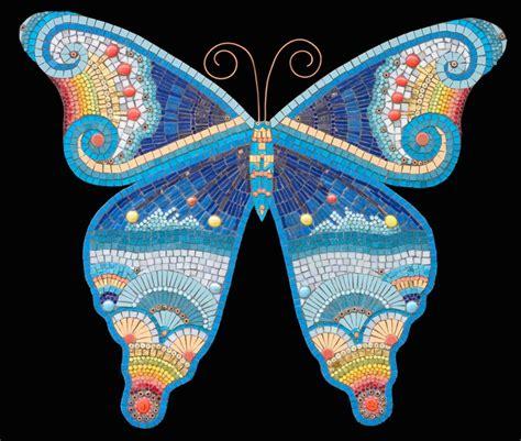 Mosaic Backsplash Kitchen butterfly irina charny mosaics