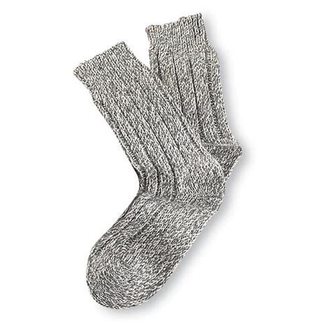 Wool Socks surplus wool salt and pepper socks 3