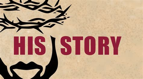 with the story with the tell your story his story think theology