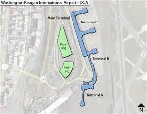 us airways terminal map dca dca national airport terminal maps