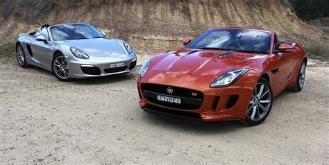 what type of car does porsche from atlanta housewives have jaguar f type v porsche boxster comparison review