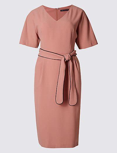 Marks And Spencers Kimono Dress by Kimono Tie Sleeve Shift Dress M S