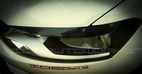 volkswagen polo headlights modified headl of the vw polo modified by ide autoworks indian