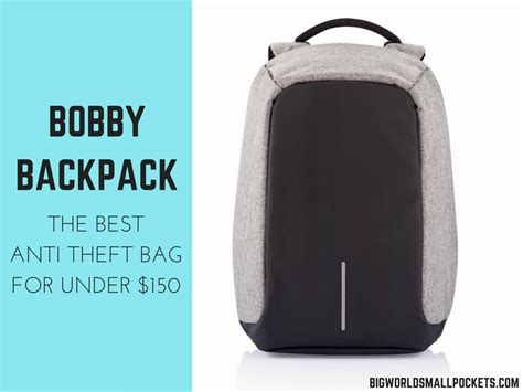 bobby backpack review   anti theft bag