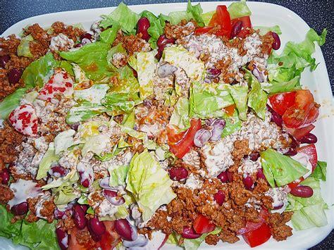salat rezept cowboy salat rezept mit bild angelique1 chefkoch de