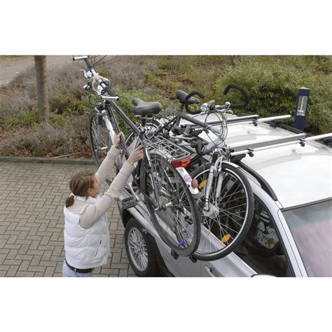 porta biciclette per auto portabiciclette per tetto auto quot evolution quot in vendita